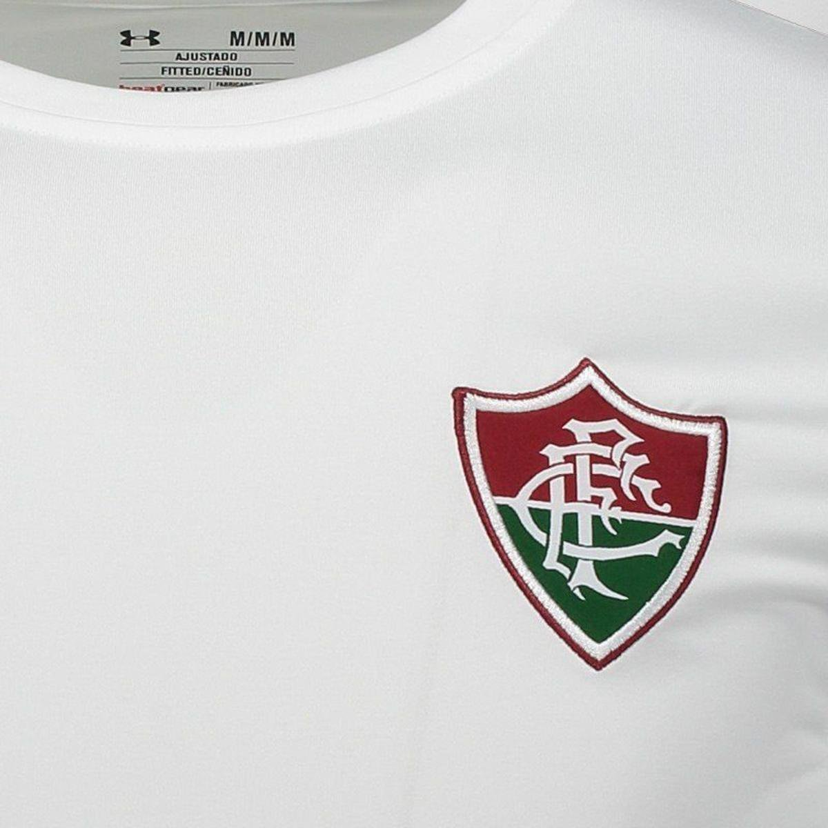 648baddd17 Camisa Under Armour Fluminense II 2017 Com Patrocínio Masculina ...