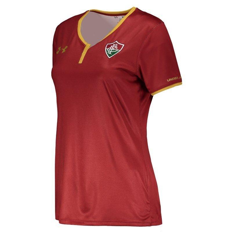 Camisa Under Armour Fluminense III 2017 Feminina - Compre Agora ... ccb28dc912675