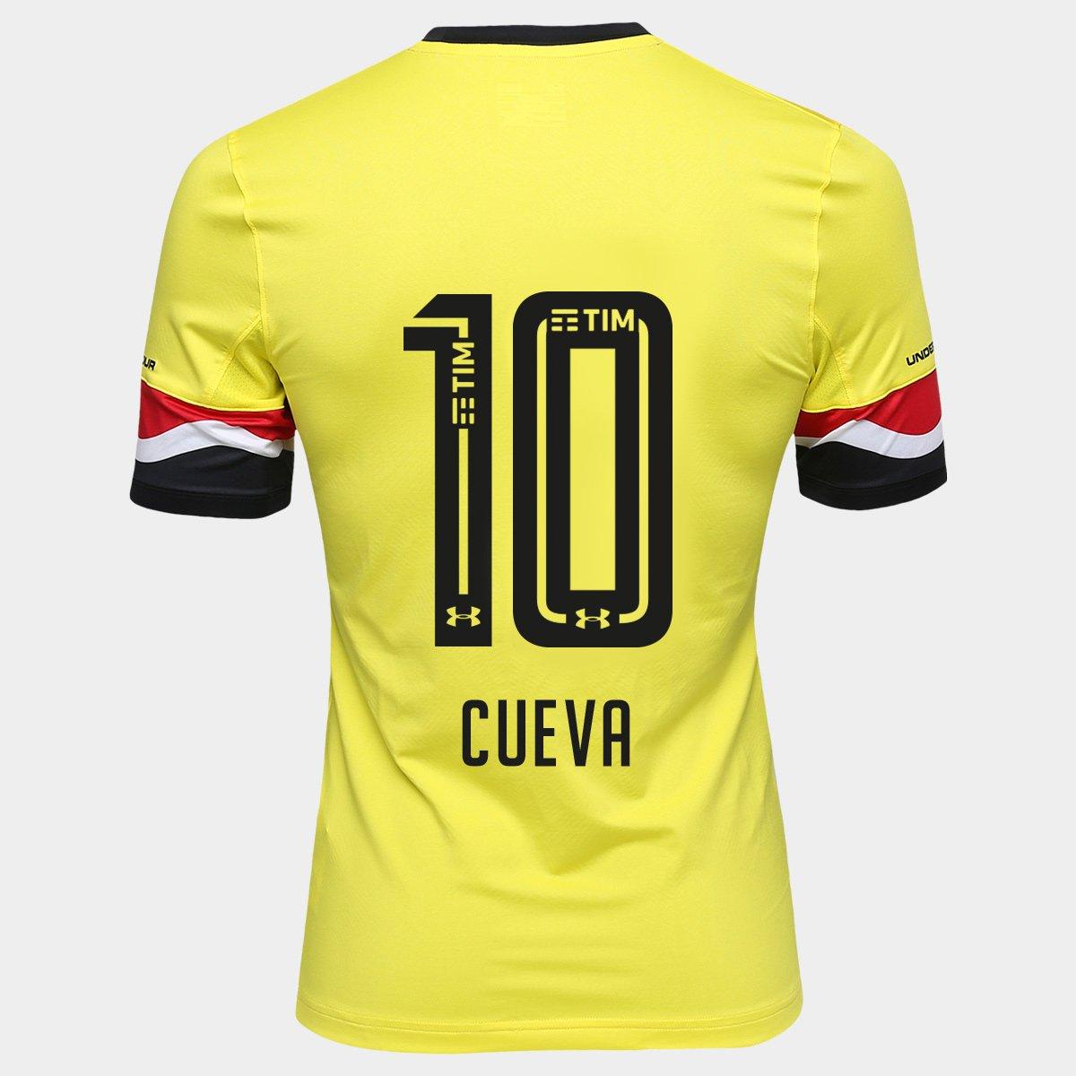 a44ee33b570 Camisa Under Armour São Paulo III 16 17 Jogador - n° 10 Cueva - Compre Agora