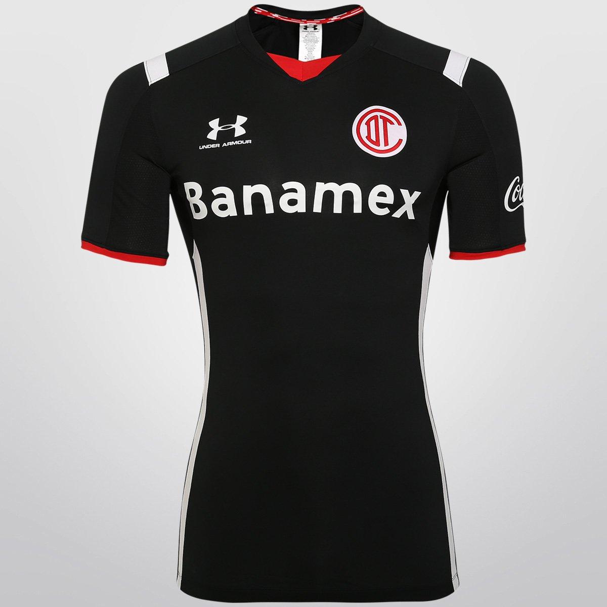 03350a9803 Camisa Under Armour Toluca Third 15 16 s nº - Compre Agora