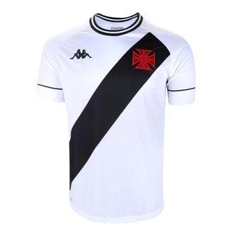 Camisa Vasco 2021 Away Branca Kappa Oficial Torcedor S/N
