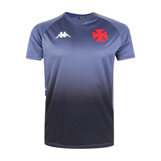 Camisa Vasco 2021 Oficial Treino Comissão - Cinza Claro