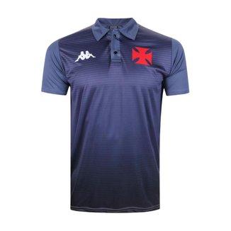 Camisa Vasco 2021 Polo Oficial Atleta Cinza