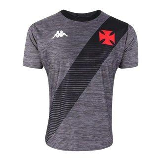 Camisa Vasco 2021 Treino Supporter Vintage Chumbo