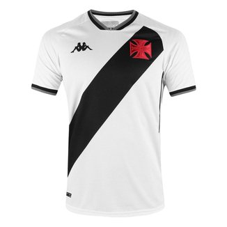 Camisa Vasco 2021/2022 Away Branca Kappa Oficial S/N