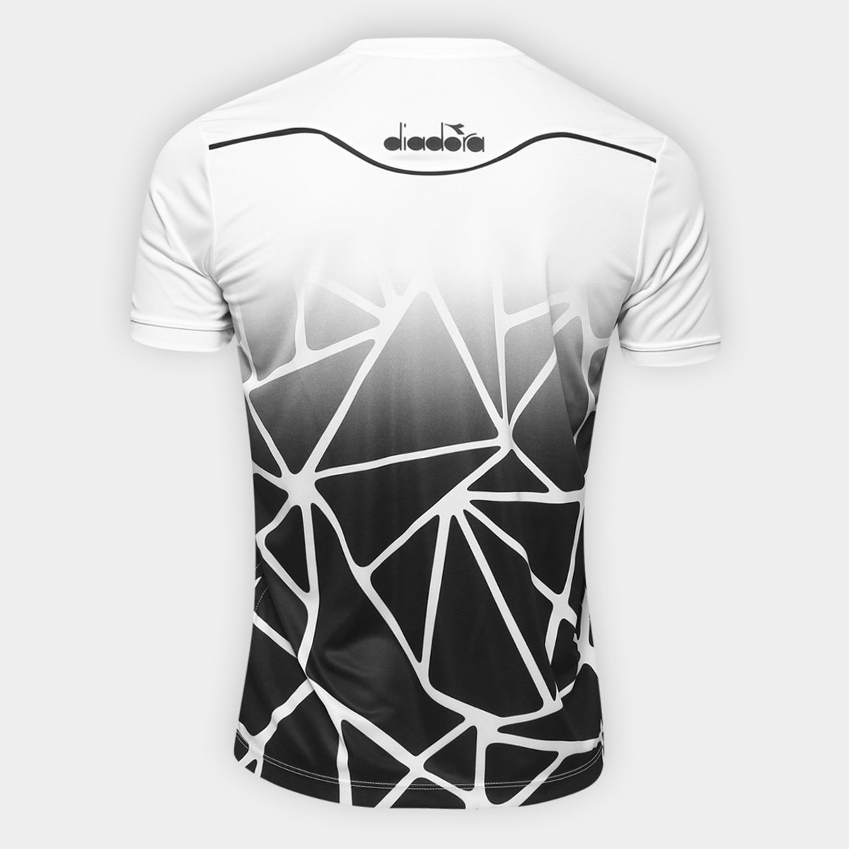 Camisa Vasco Concentração 2018 Diadora Masculina - Branco - Compre ... e6c5ed9bf05cf