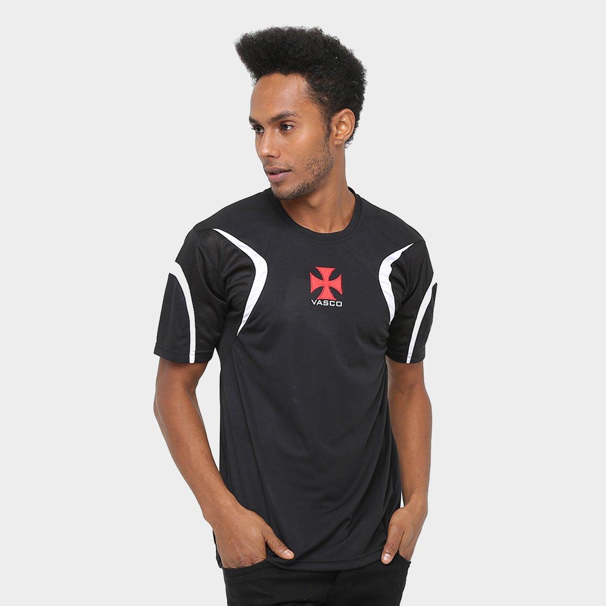 4af03ff47cd70 Camisa Vasco Cruz de Malta Masculina - Compre Agora