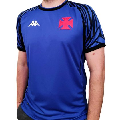 Camisa Vasco Goleiro Kappa 2021/2022 Uniforme I Oficial