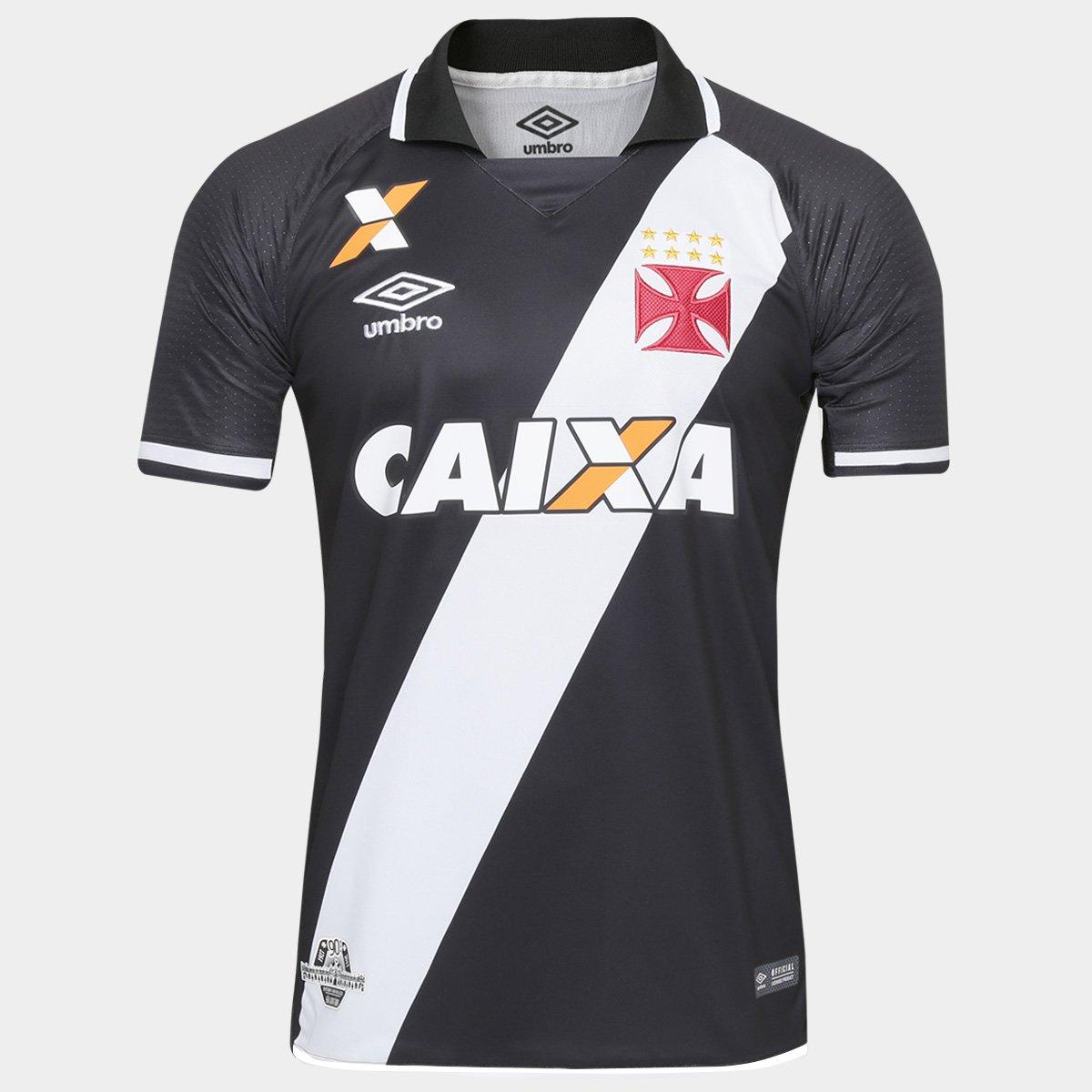 535bcf2f1fb94 Camisa Vasco I 17 18 s nº Torcedor Umbro Masculina - Compre Agora ...