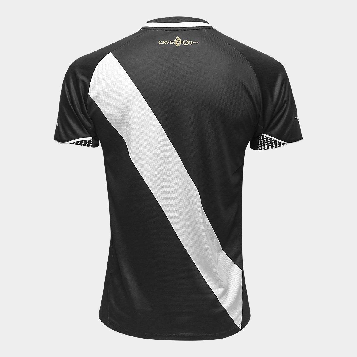 Camisa Vasco I 2018 s n° Jogador Diadora Masculina - Preto - Compre ... 929cf6e625764