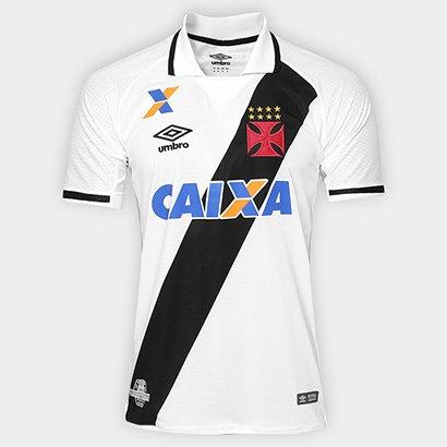 Camisa Vasco II 17 18 s nº Torcedor Umbro Masculina - Branco e Preto -  Compre Agora  57be8591893b1