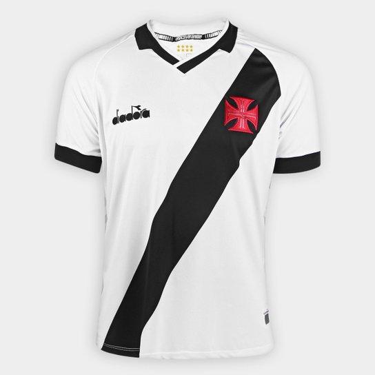 Camisa Vasco II 19/20 s/n° - Torcedor Diadora Masculina - Branco