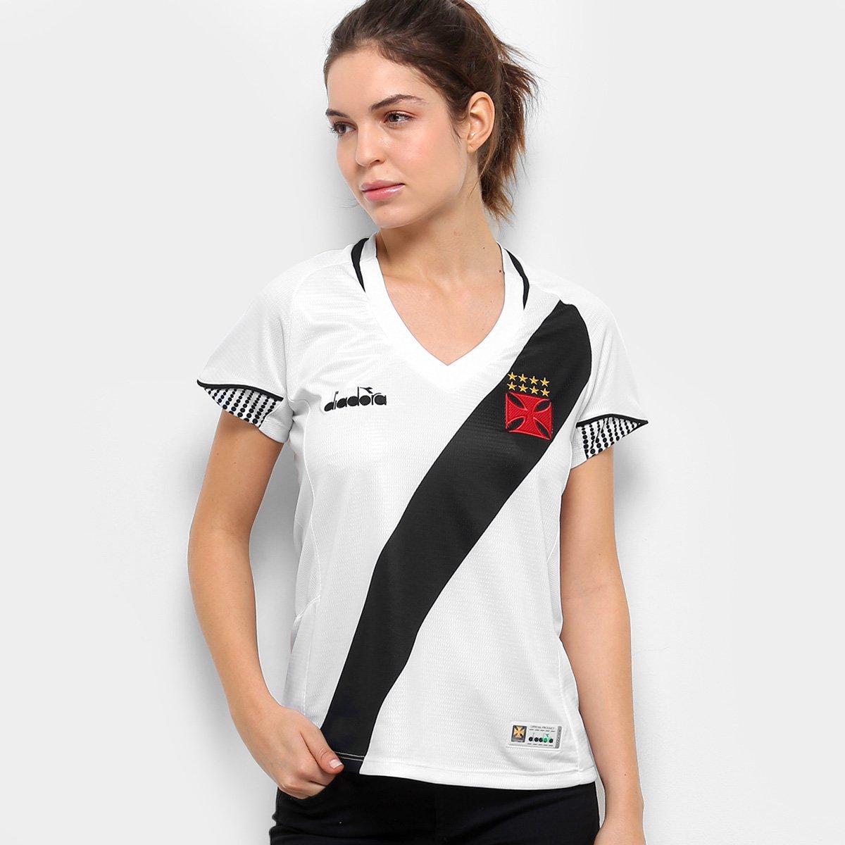 2018 Camisa Torcedor Vasco n° Branco s Feminina II Diadora UFwZEFqf