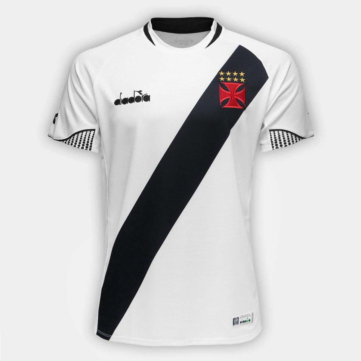 33442c7ae918b Camisa Vasco II 2018 s n° - Torcedor Diadora Masculina - Branco - Compre  Agora