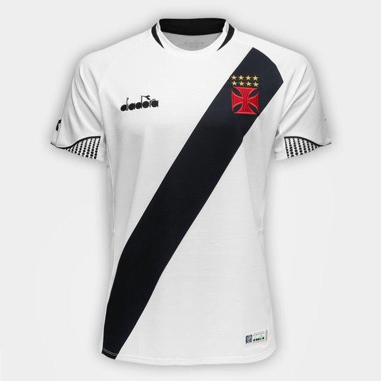 Camisa Vasco II 2018 s/n° - Torcedor Diadora Masculina - Branco