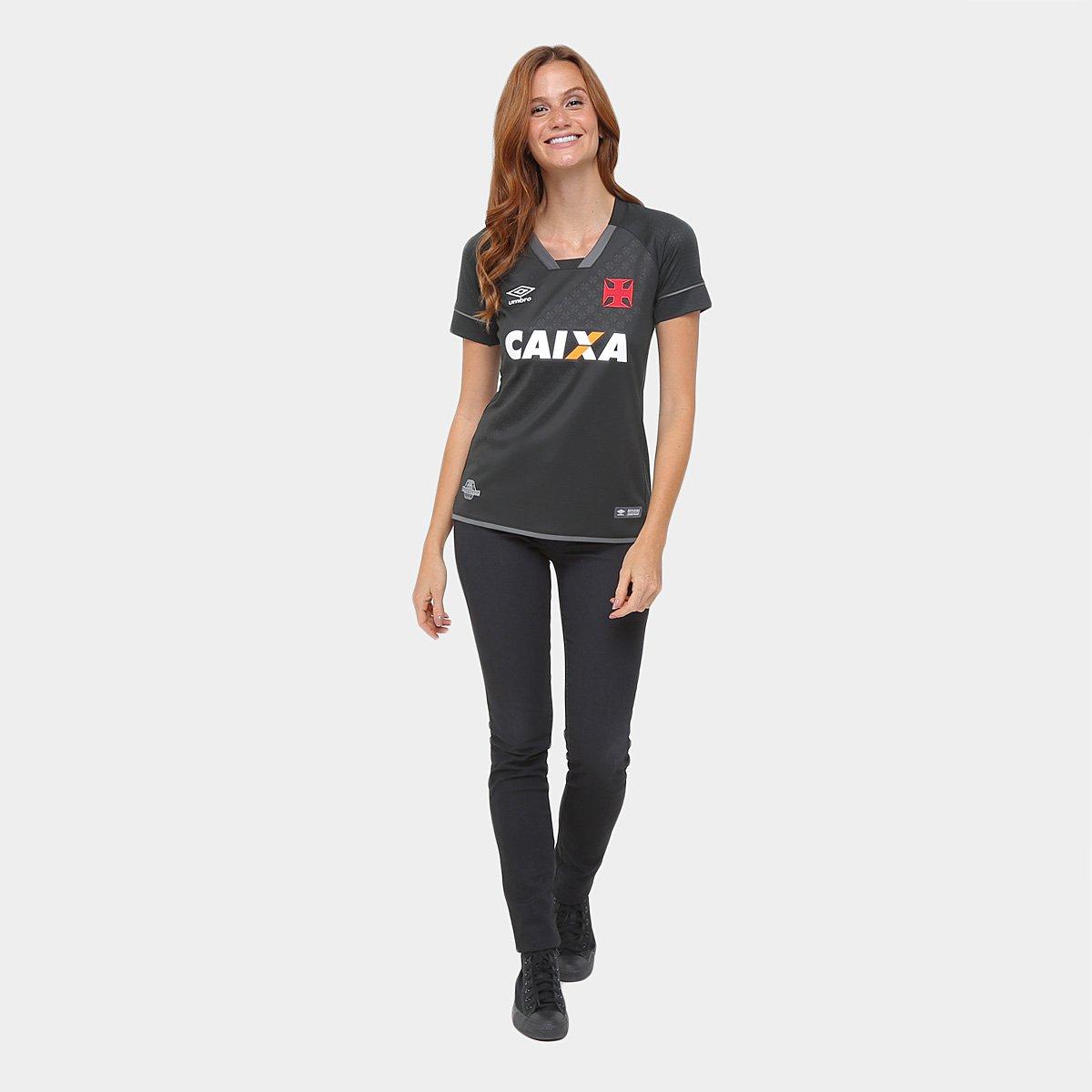 Camisa Vasco III 17 18 s n° - Torcedor Umbro Feminina - Compre Agora ... 242e5399519ea