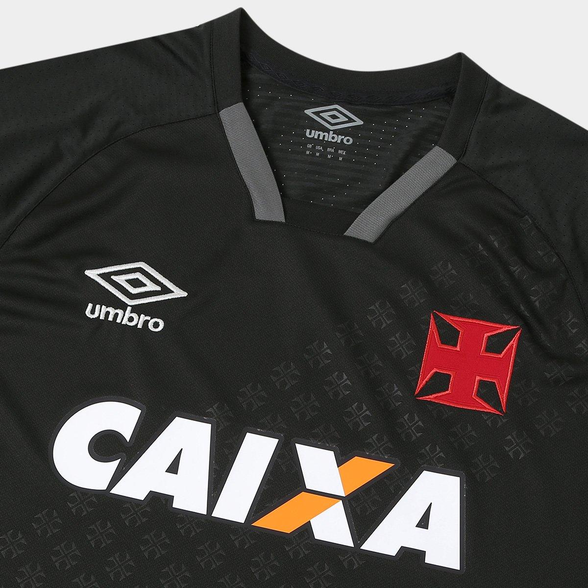 Camisa Vasco III 17 18 s n° - Torcedor Umbro Masculina - Compre ... fb09301f6859d