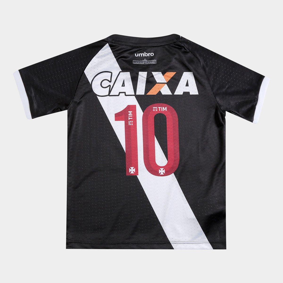 Camisa Vasco Infantil I 17 18 nº10 Torcedor Umbro - Compre Agora ... b2464478eac17