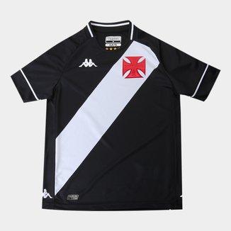 Camisa Vasco Juvenil I 20/21 s/n° Torcedor Kappa