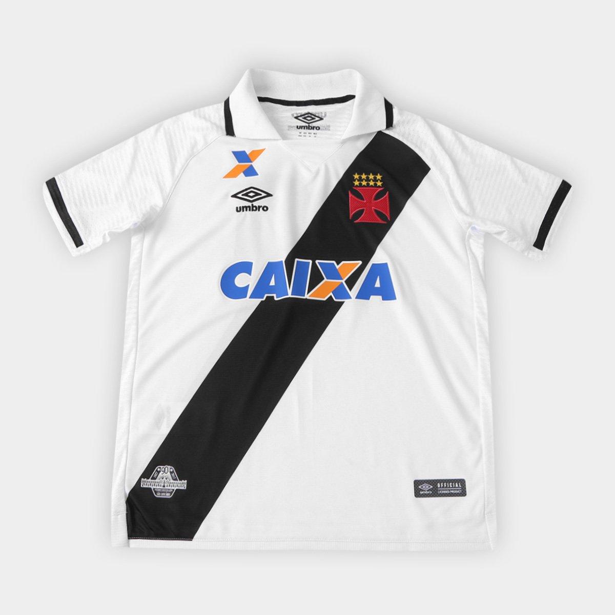 Camisa Vasco Juvenil II 17 18 nº 10 - Torcedor Umbro - Compre Agora ... ec743a7ffb04f