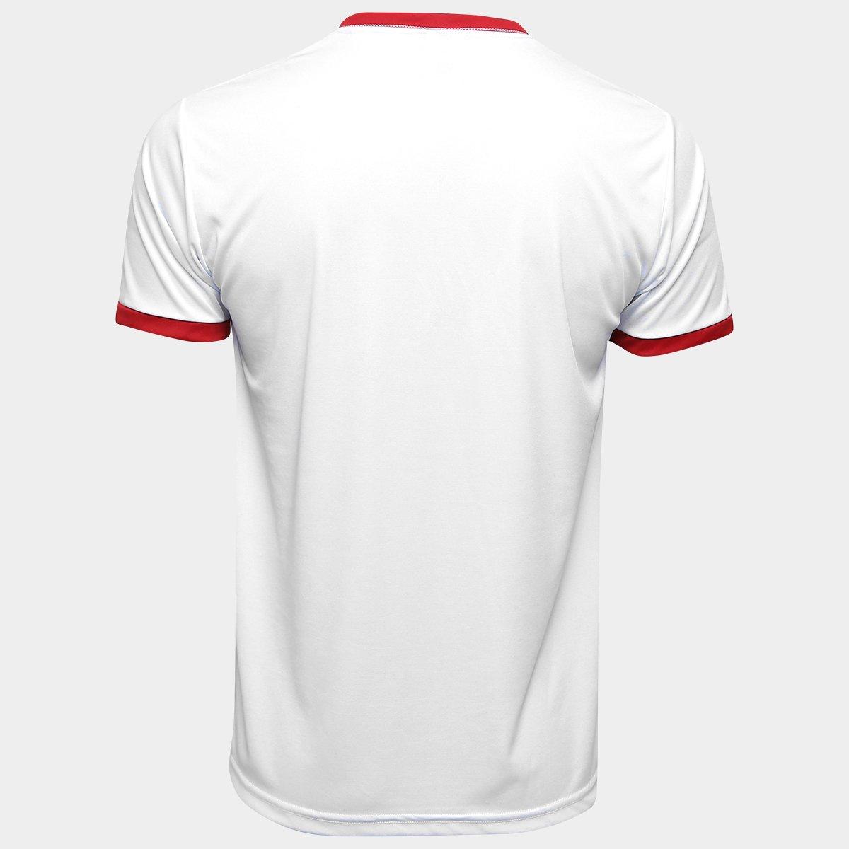 Camisa Vasco Templária Ed. Limitada Masculina - Branco e Vermelho ... 96f02ba9ddd86