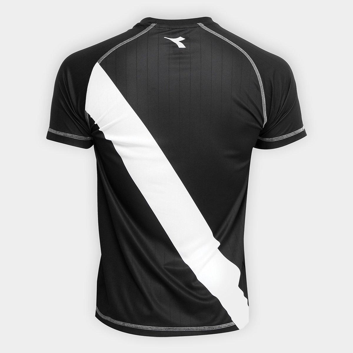 ... Camisa Vasco Transição I 2018 s nº Torcedor Diadora Masculina ... f81d422f033d3
