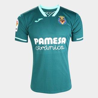 Camisa Villarreal Away 19/20 s/nº Torcedor Joma Masculina