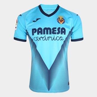Camisa Villarreal Third 19/20 s/nº Torcedor Joma Masculina