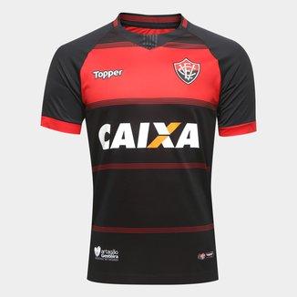 Camisa Vitória I 2018 s/n° Torcedor Topper Masculina