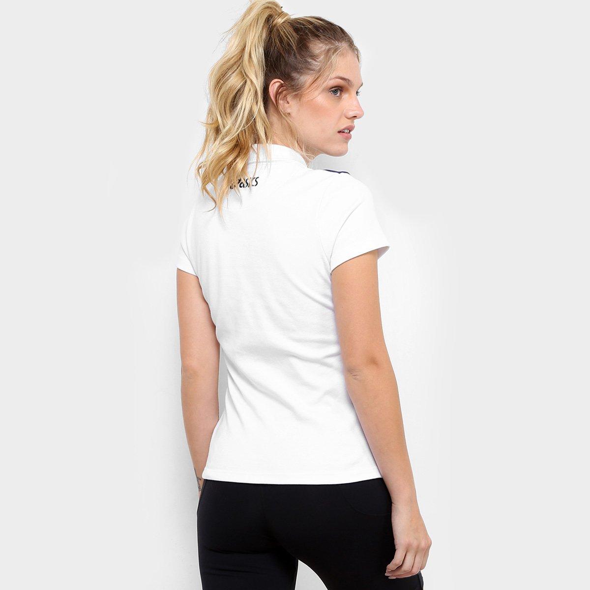 Camisa Vôlei Brasil Rêtro Asics Feminina - Branco e Amarelo - Compre ...  6812d41a1a0b7e  Camiseta de Compressão ... 42dc844801b83