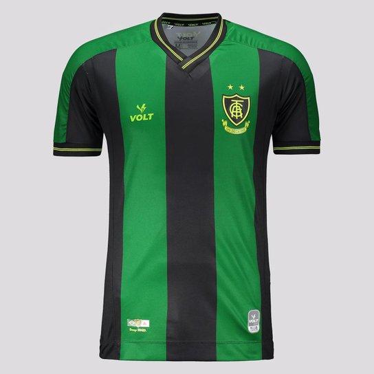Camisa Volt América Mineiro I 2021 - Verde