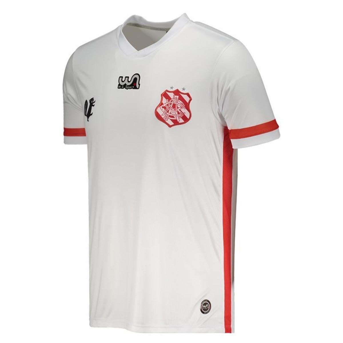 Camisa WA Sport Bangu II 2018 Masculina - Branco - Compre Agora ... a244a758adca4