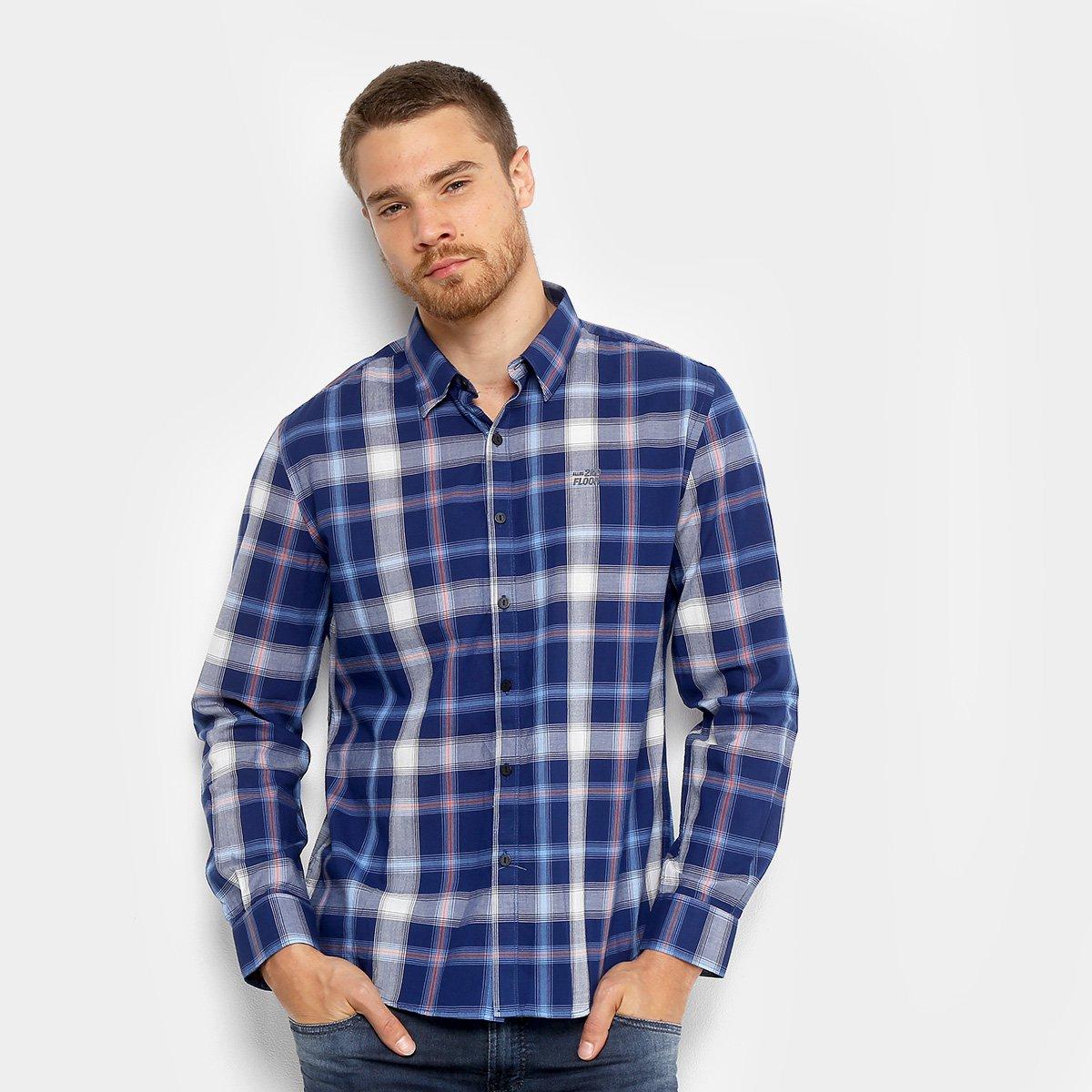 35ee811a418c4 Camisa Xadrez Ellus Manga Longa Masculina - Compre Agora