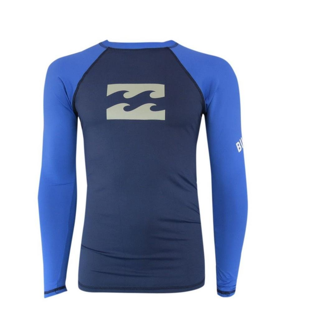 Billabong Lycra Azul Platinum Wave Camisata Camisata Lycra wgFxX6q