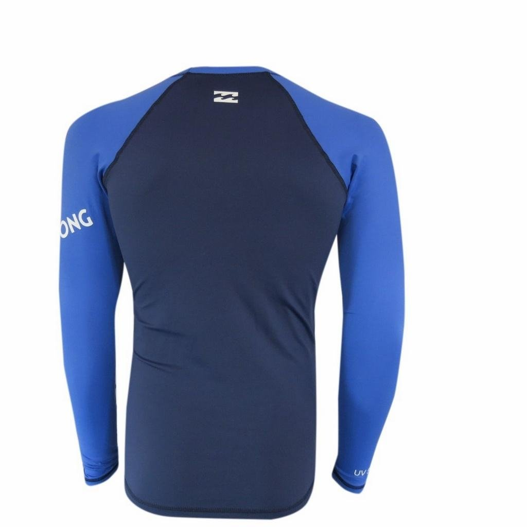 Azul Camisata Lycra Platinum Wave Lycra Camisata Billabong qY6r7q