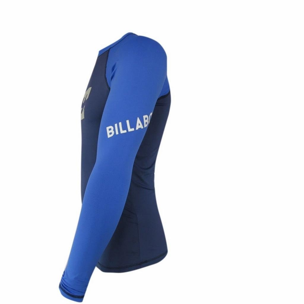 Camisata Billabong Platinum Azul Azul Platinum Platinum Lycra Wave Wave Lycra Lycra Camisata Billabong Camisata Wave OzqBwpxH
