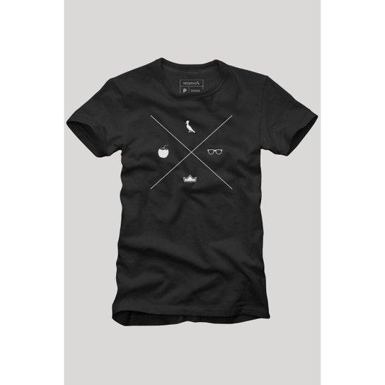 Camiseta A Maior Tardezinha Reserva Masculina - Preto
