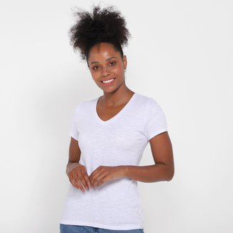Camiseta Abrange Básica Feminina