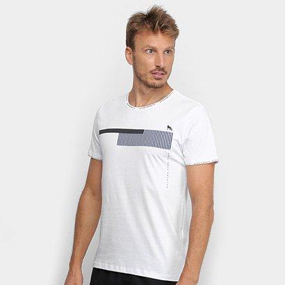 Camiseta Acostamento Código De Barras Masculina - Masculino