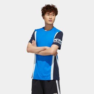Camiseta Adidas Aeroready Colorblock Masculina