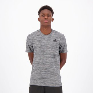 Camiseta Adidas All Set 2 Cinza