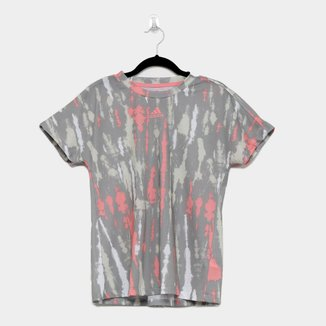 Camiseta Adidas Allover Print Feminina