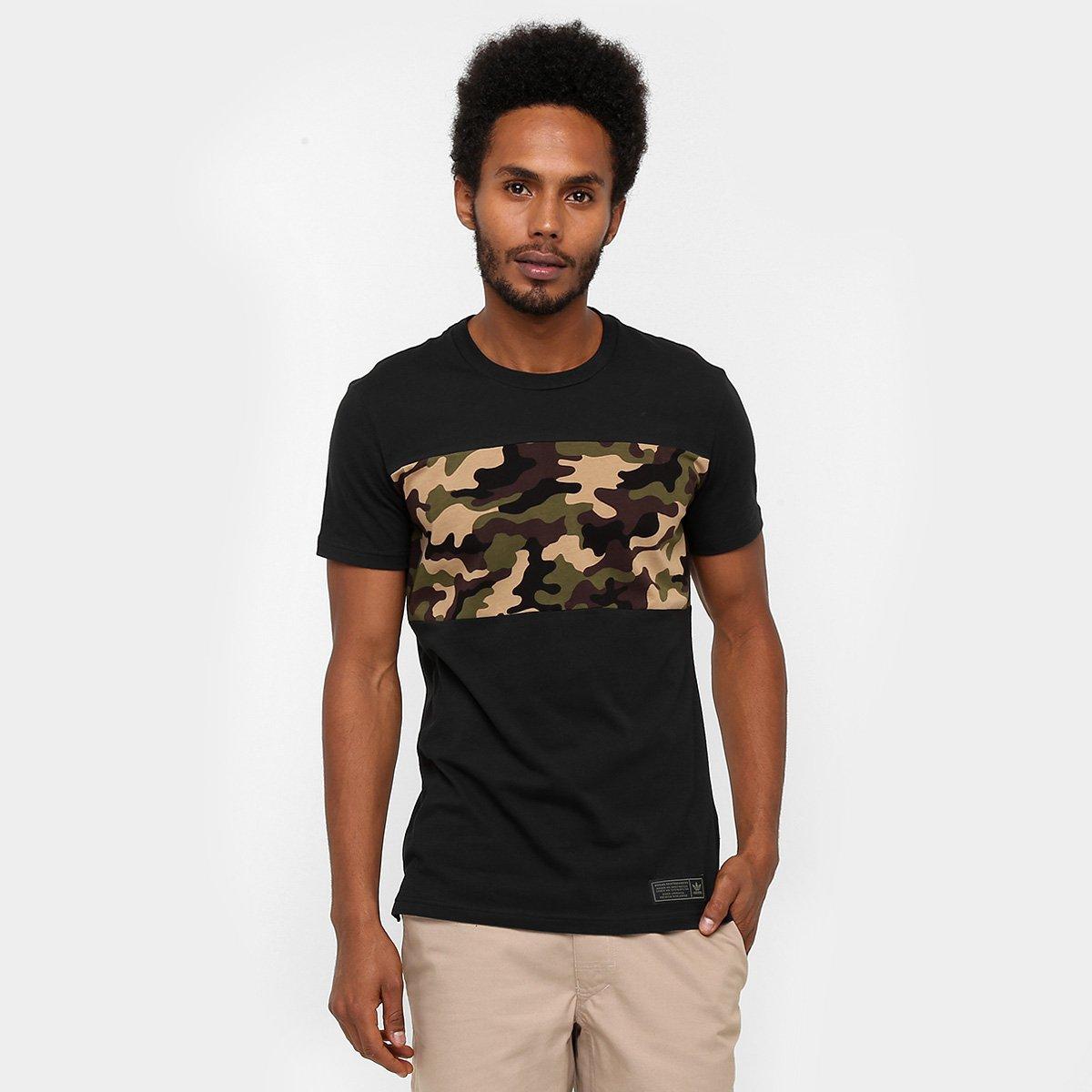 bc71565e7f2 Camiseta Adidas Blkd Camo - Compre Agora