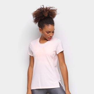 Camiseta Adidas Bos Glam Logo Feminina