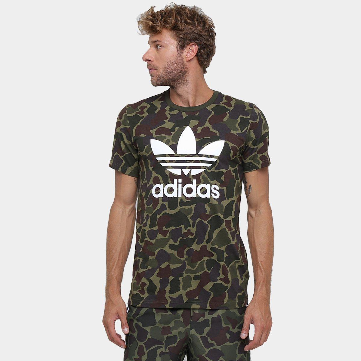 destacar bar Autenticación  Camiseta Adidas Camo | Netshoes