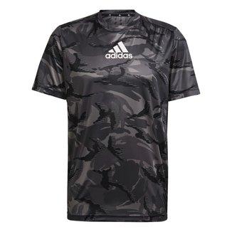 Camiseta Adidas Camuflada Designed To Move Masculina