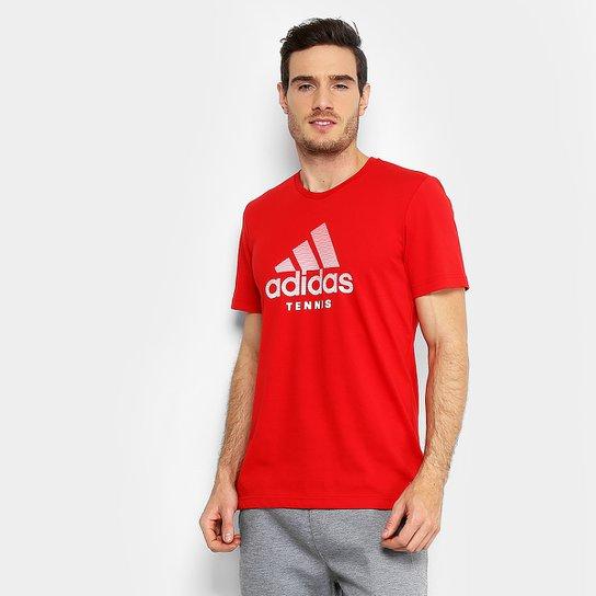 Camiseta Adidas Category Masculina - Vermelho