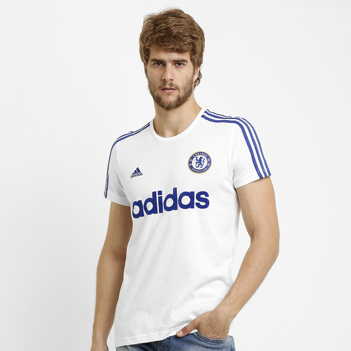 3d719ec7ad31a Camiseta Adidas Chelsea Retrô - Compre Agora