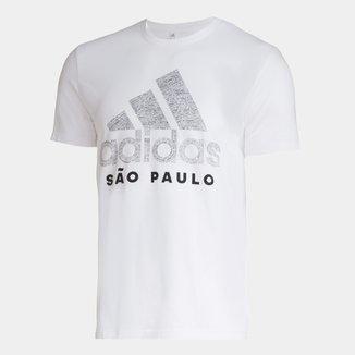 Camiseta Adidas Cidade São Paulo Masculina
