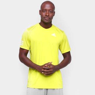 Camiseta Adidas Club Tennis 3 Stripes Masculina